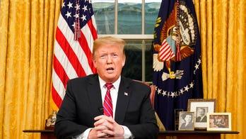 Trump border wall draws fire from media – Critics bash broadcast of Oval Office speech