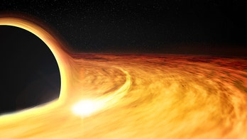 This huge black hole is spinning at half the speed of light