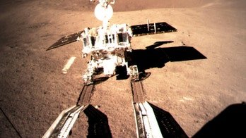 Chinese rover leaves tracks on far side of the Moon