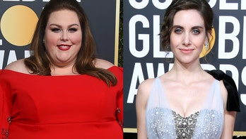 Chrissy Metz denies calling Alison Brie 'such a b---h' on Golden Globes red carpet