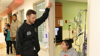 Justin Timberlake visits Texas children's hospital after 'Can't Stop the Feeling' video goes viral