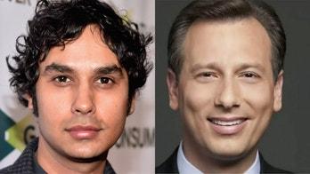'Big Bang Theory' star donates $5,000 to California anchor Chris Burrous' family