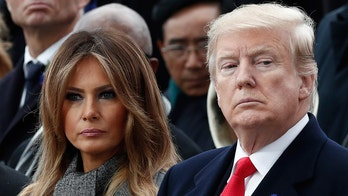 President Donald Trump slams Daily Telegraph over Melania Trump story
