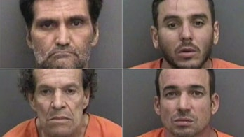 Four thieves arrested after stealing half a million dollars' worth of tequila
