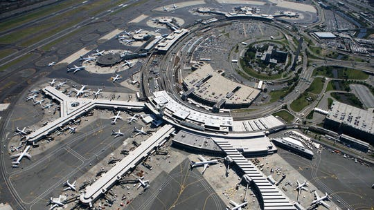 Reports of drone force ground stop at Newark airport