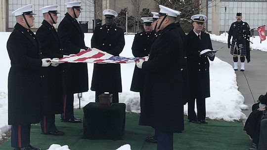'Full Metal Jacket' actor R. Lee Ermey laid to rest at Arlington National Cemetery