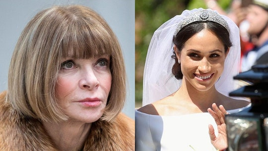 Anna Wintour reveals her thoughts on Meghan Markle's wedding look