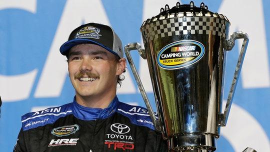 NASCAR Truck Series champion Brett Moffitt finds new team for 2019