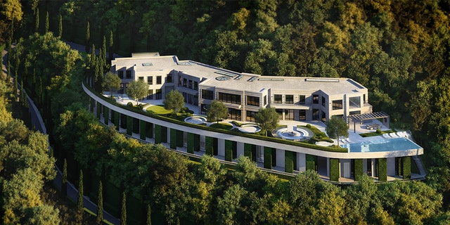 """A 10.6-acre tract of """"shovel ready"""" land located just around the corner from the Hotel Bel Air in California is for sale."""