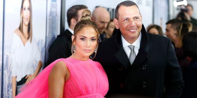 Alex Rodriguez due to Jennifer Lopez in Mar 2019.