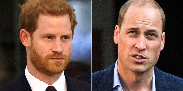 Princes Harry (left) and William have not fallen apart over alleged rumors, says Princess Diana's former royal butler.