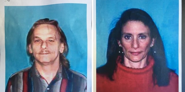 Dennis Tuttle, 59, left and Rhogena Nicholas, 58, were identified as the suspects.