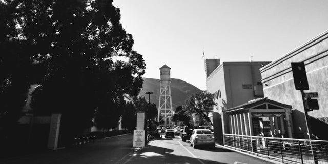 The Warner Bros. studio lot in Burbank, CA.