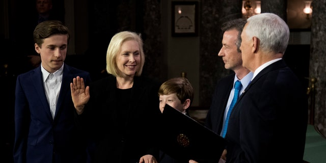 Sen. Kirsten Gillibrand, D-N.Y., has served in Congress and worked as a lawyer.