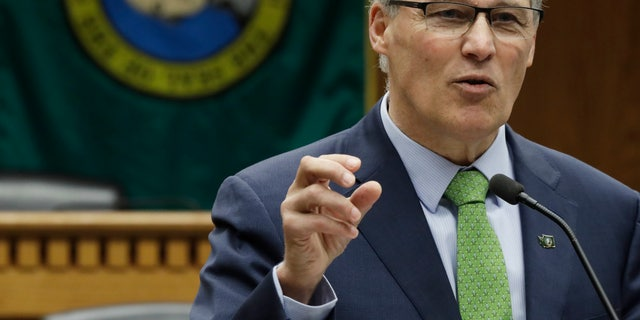 """Washington Gov. Jay Inslee on Friday introduced the """"Marijuana Justice Initiative,"""" which is designed to allow a few thousand eligible individuals who have single misdemeanor possession convictions to apply for clemency."""