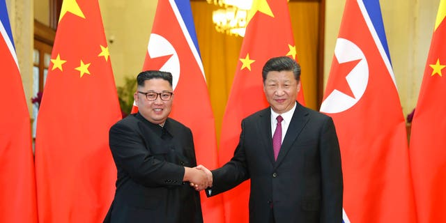 North Korean leader Kim Jong Un reportedly met with Chinese President Xi Jinping.