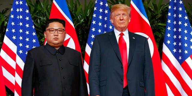 President Trump previously met with North Korean leader Kim Jong Un on Sentosa Island, in Singapore.