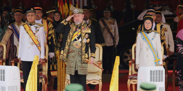 Sultan Muhammad V stepped down after just two years at the the helm amid rumors that he wed a Russian beauty queen while on medical leave in November