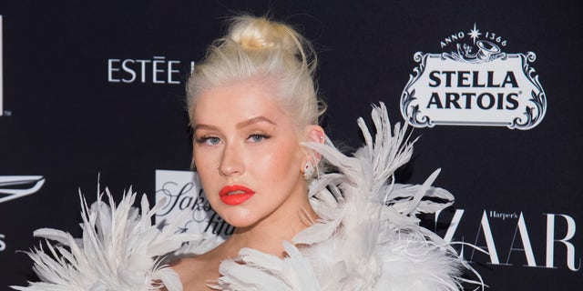 Westlake Legal Group AP19029725255263 Christina Aguilera breaks down while receiving award from domestic violence shelter: 'I'm a survivor of it' Viktoria Ristanovic fox-news/entertainment/celebrity-news fox-news/entertainment fox news fnc/entertainment fnc article 55f5ef45-f130-52d8-bfc4-bd26e0f36067