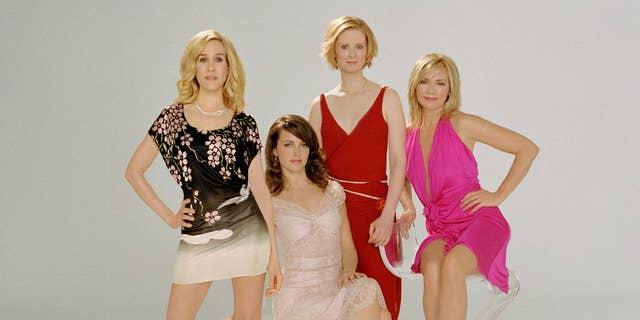 """Sex and the City"" cast from l-r: Sarah Jessica Parker, Kristin Davis, Cynthia Nixon and Kim Cattrall."
