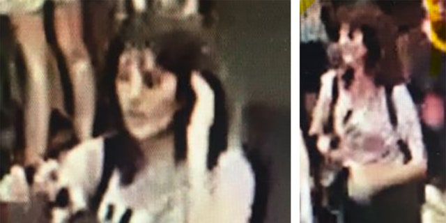These CCTV photos released by Victoria Police show Aiia Maasarwe, 21, sometime before she was killed while walking home after a comedy show in Melbourne, Australia.