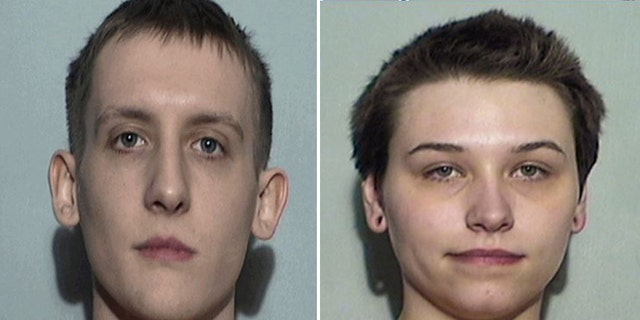 Authorities in court documents have said Vincent Armstrong and his girlfriend, Elizabeth Lecron, both 23, had talked about taking part in violent attacks on public places and had bomb-making supplies and weapons inside their home.(Lucas County Sheriff's Office)