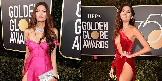 Blanca Blanco, who attended this year's Golden Globes, recalled wearing her infamous red dress at last year's ceremony.