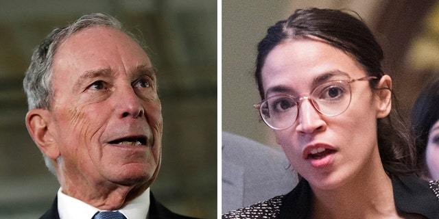 Former New York City Mayor Mike Bloomberg took a swipe at Rep. Alexandria Ocasio-Cortez.