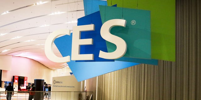 A sign for the annual Consumer Electronics Show is seen in Las Vegas, on Jan. 6, 2015. (Getty Images)