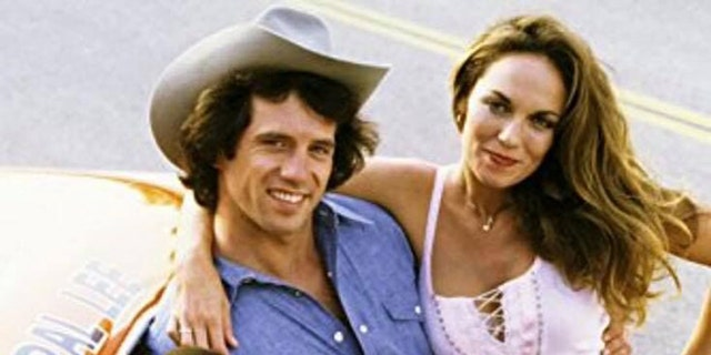 Left to right: John Schneider, Tom Wopat and Catherine Bach. — Courtesy of Tom Wopat