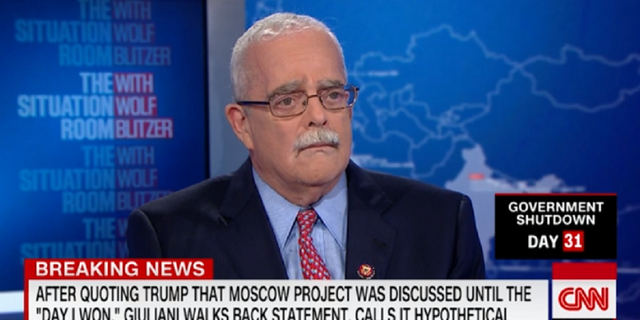 """Democratic congressman Gerry Connolly referred to Trump lawyer Rudy Giuliani as a """"crazy old uncle."""""""