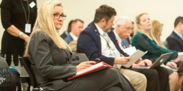 Freshman legislator Amanda Chase could be seen this week openly wearing a revolver on the floor of the Virginia state Senate.