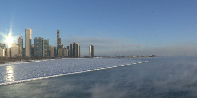 The National Weather service said the temperature dropped early Wednesday in Chicago to minus 19 degrees. That breaks the previous record low for the day that was set in 1966.