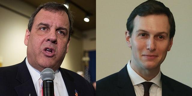 Chris Christie and White House senior adviser Jared Kushner