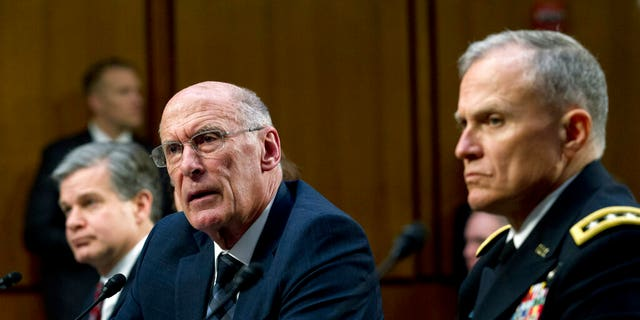 Director of National Intelligence Daniel Coats testifying before the Senate Intelligence Committee this past January. (AP Photo/Jose Luis Magana)
