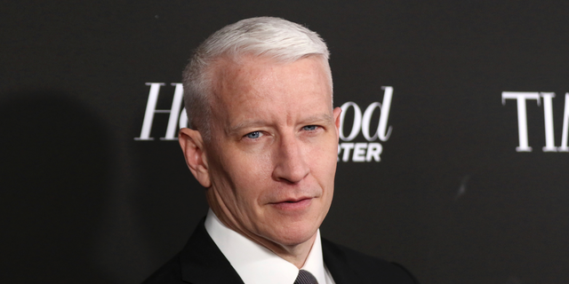 Anderson Cooper arrives at the 2019 Sean Penn J/P HRO & Disaster Relief Organizations Gala at The Wiltern Theatre on Saturday, Jan. 5, 2019, in Los Angeles.