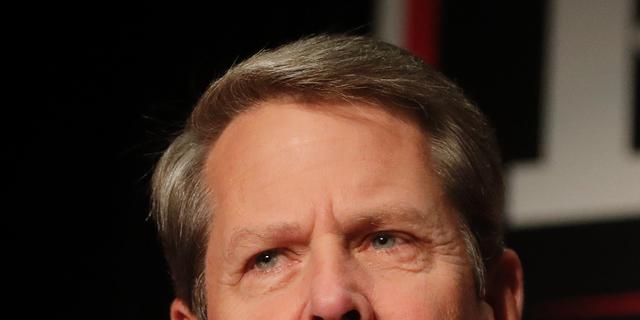 Georgia Gov. Brian Kemp.
