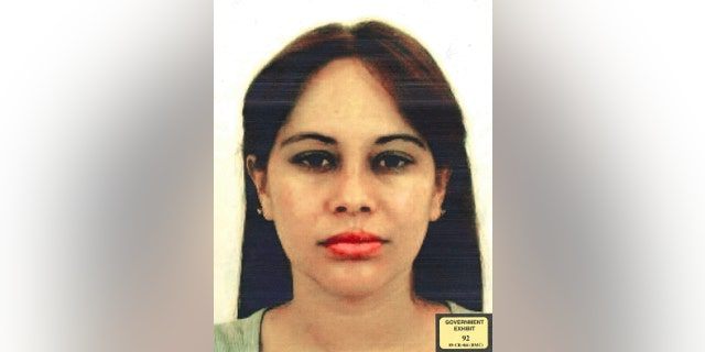 "Lucero Guadalupe Sanchez Lopez. Sanchez has testified that she had a years-long, on-off affair with Joaquin ""El Chapo"" Guzman (U.S. Attorney for the Eastern District of New York via AP)"