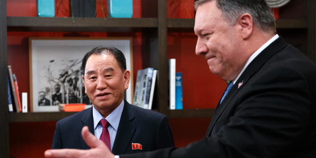 Pompeo meet with North Korea's chief nuclear negotiator in Washington
