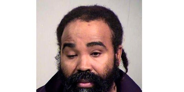 This photo provided by Maricopa County Sheriff's Office shows Nathan Sutherland. Phoenix police say Sutherland, a licensed practical nurse, has been arrested on a charge of sexual assault of an incapacitated woman who gave birth last month at a long-term health care facility.