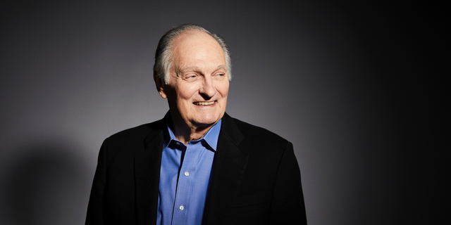 In this Oct. 25, 2018 photo, actor Alan Alda poses for a portrait in New York. The 82-year Golden Globe and Emmy-winning actor will become the 55th recipient of the annual Life Achievement Award at the upcoming Screen Actors Guild Award ceremony on Jan. 27.