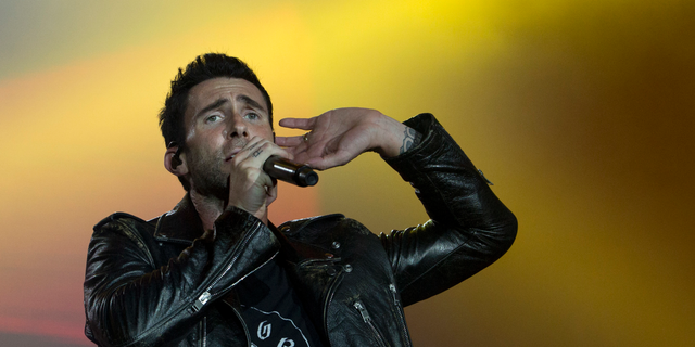Adam Levine of Maroon 5. (AP Photo/Silvia Izquierdo, File)