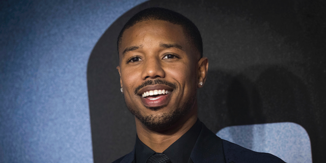 In this Nov. 28, 2018, file photo, actor Michael B. Jordan poses for photographers upon arrival at the premiere of the film 'Creed II', in London.