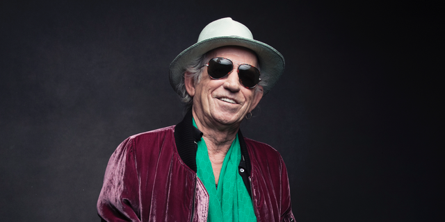 Keith Richards on Nov. 14, 2016.
