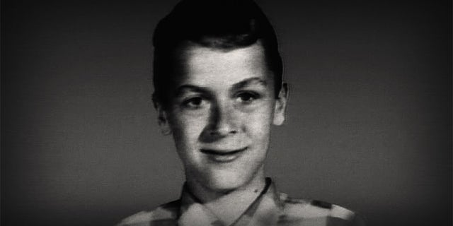 Ted Bundy as a child. — Netflix