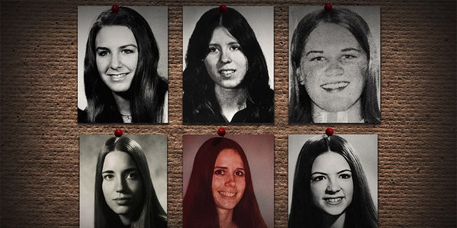Some of Ted Bundy's victims.