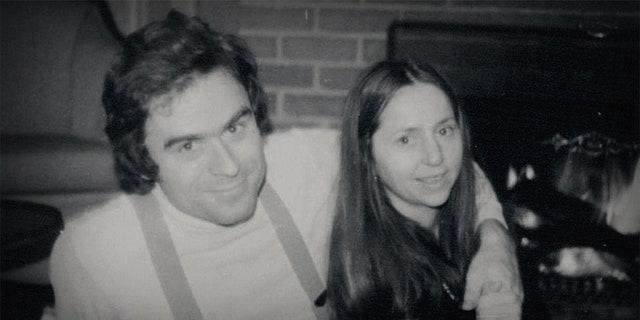 Ted Bundy and his girlfriend Elizabeth Kloepfer.