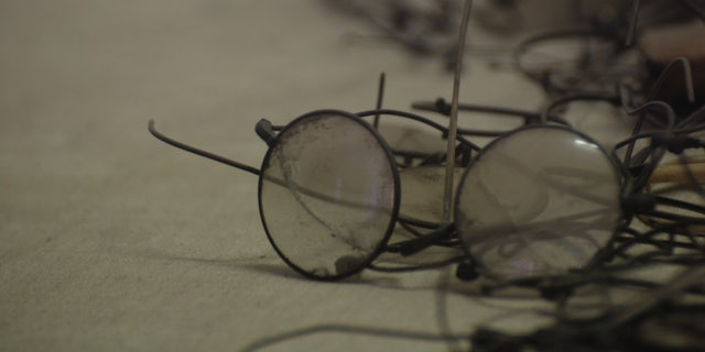 Eyeglasses robbed from the victims of Auschwitz