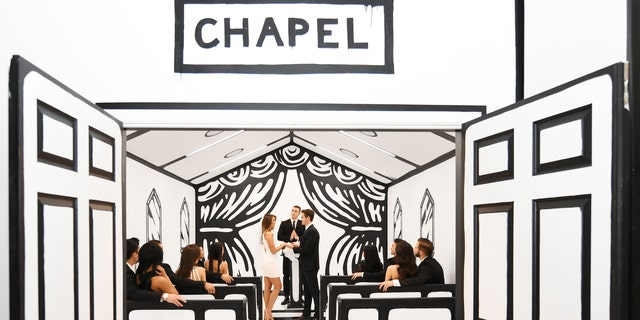 For $250, couples can take unlimited photos at the chapel for an hour. But those who want to marry there will need to fork over $500.