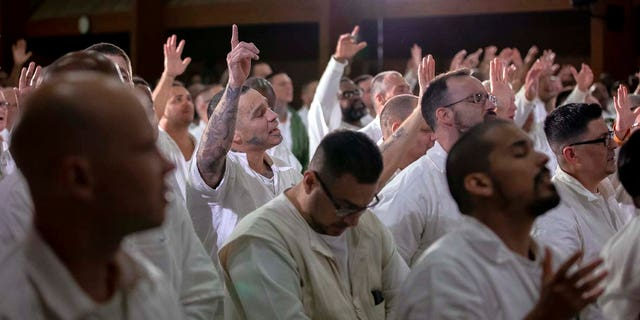 Inmates at the Coffield Unit, a maximum security prison in Anderson County, Texas, are the newest campus for Gateway Church of Dallas, Texas.